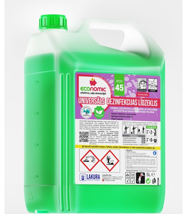 ECO 45 Universaalne desinfektsioonivahend 5l